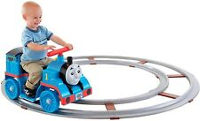 Thomas Train Rail Toy Track Fisher Price Ride On Children Boy Toddler Gift Blue