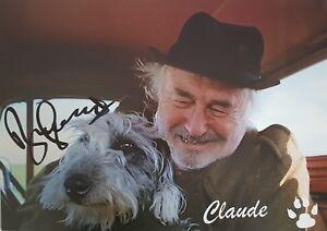 BILL MAYNARD Signed 16x12 Photo HEARTBEAT Claude Greengrass COA