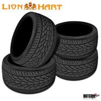 4 X New Lionhart LH-Ten 335/25R22 105W High Performance All-Season Tires