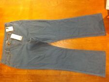 Ex-BHS Ladies Midwash Stretch Cotton Straight Jeans Size 22 Reg (£16) New