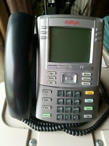 Nortel Avaya 1140E IP Phone POE Used but Clean Good Condition