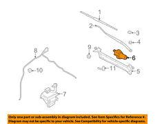 FORD OEM-Windshield Wiper Motor 6E5Z17508AA