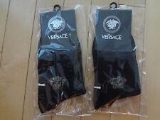 NWT Men Versace Black Socks - 2 pairs