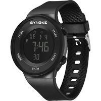 SYNOKE Unisex Men Women Electronic Waterproof Digital Sport Strap Wrist Watch
