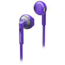 Philips SHE3205 In-Ear Headphones with Mic – Purple