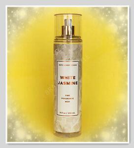 Bath & Body Works WHITE JASMINE Women Fine Fragrance Mist SPRAY 8 oz/236 ml NEW