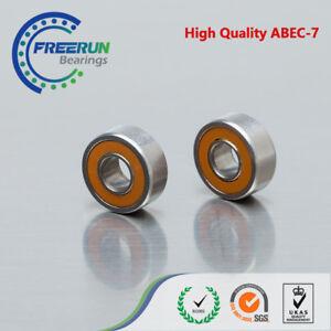 2pcs Hybrid Ceramic Stainless Fishing Reel Bearing SMR105C 2OS 5x10x4 Lube Dry