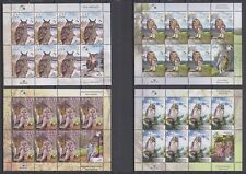 "Belarus - 2008 ""Owls"" Miniature Sheets Set (MNH)"