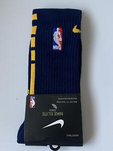 NBA Nike Elite Socks GSW Indiana Pacers. Men 6-8. Women 6-10. Youth 5Y-7Y.