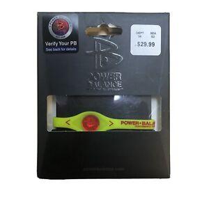 Power Balance Performance Technology Size Small 17.5cm Yellow & Red Bracelet NEW