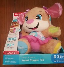Fisher-Price Laugh and Learn Smart Stages Sis Kids Toys Animals Baby