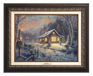 Thomas Kinkade Studios Holiday Tradition 12 x 16 Classic Collection (Framed)