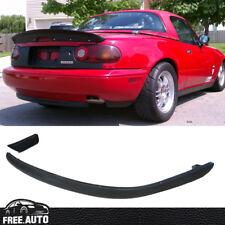 Black Polyurethane RS Rear Bumper Lip Bodykit Spoiler for 90-97 Mazda Miata MX5