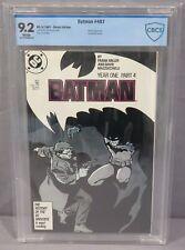 BATMAN #407 (Year One, Part 4) White CBCS 9.2 DC Comics 1987 cgc Frank Miller