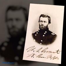 Presentation Cased Civil War General Ulysses S Grant Tintype C2569RP