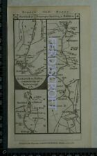 1785 Paterson Strip Map - Loughborough,Nottingham,Hull,Pattrington,Essex,Lincs