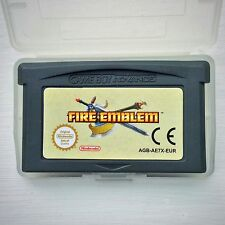 Fire EMBLEM Nintendo Gameboy SP GBA Video Game Boy Advance girare in base strategia
