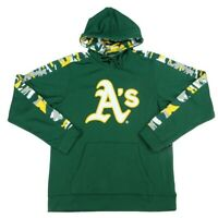 Oakland Athletics MLB Zubaz Men's Drawstring Hoodie
