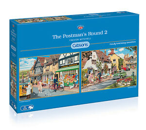 Gibsons - The Postman's Round Puzzle 2 x 500pcs
