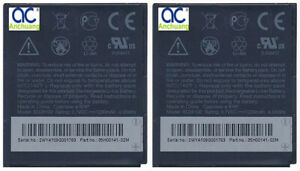 2x replacement Battery BD26100 for AT&T HTC Inspire 4G PD98120 Desire HD A9191