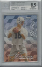 PEYTON MANNING 1998 PLAYOFF PRESTIGE FOOTBALL HOBBY RC #165 BGS 8.5