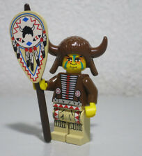 Medicine Man Indian Chief Buffalo Headdress 6748 2845 Western Lego Minifigure