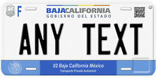 Baja California Mexico Any Text Personalized Novelty Auto Car License Plate C05