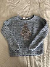 Gap Kids Blue Penguin Sweater Size S/6-7