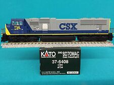 37-6408 Kato HO Scale SD70 MAC CSX NIB