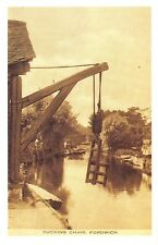 Nostalgia Postcard The Ducking Chair, Fordwich, Kent Reproduction Card NS46