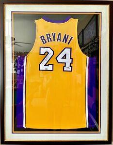 Kobe Bryant Signed LA Lakers #24 Jersey | UD COA | Limited Edition 17/24 | RARE