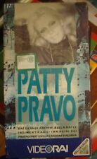 Patty PRAVO - Archivio RAI - VHS sig.