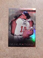 Chipper Jones Atlanta Braves 2015 Topps Finest Generations Short Print 9/25
