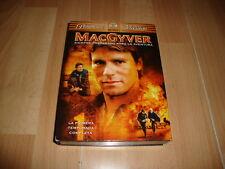 MACGYVER PRIMERA TEMPORADA EN DVD CON 6 DISCOS Y 22 EPISODIOS EN BUEN ESTADO