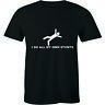 I Do All My Own Stunt - Falling Funny Birthday Gift Men's Premium T-shirt