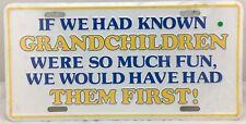 *NEW* Funny Grandparent Grandpa/Grandpa Lisence Plate