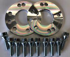 2 X 5mm HUB CENTRIC ALLOY WHEEL SPACER 65.1 + M12X1.75 BOLTS VOLVO 5X108