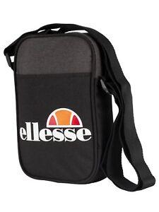 Ellesse Men's Lukka Cross Body Bag, Black