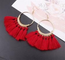 Fashion Womens Bohemian Earrings Long Tassel Fringe Boho Dangle Earrings Jewelry