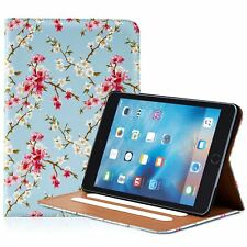 32nd Floral Design Leather Folio Stand Case for Apple iPad Mini (4th Gen
