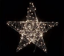 Deko Weihnachts Stern mit 180 LED - 78x78 cm - Weihnachtsdeko Au�Ÿen Fensterdeko