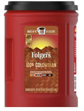 BIG Original-Folgers 100% Colombian Coffee (43.8 oz.) Brand New. Ships Fast