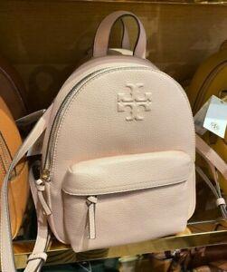 Tory Burch Thea Pebble Leather Mini Backpack