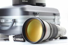 New listing [MINT in Trunk] Canon EF 600mm f/4 L IS II USM ULTRASONIC Lens + Hood from JAPAN