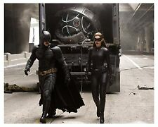 ** (BATMAN) ** CHRISTIAN BALE & ANN HATHAWAY as (Catwoman) (8x10) Glossy Photo