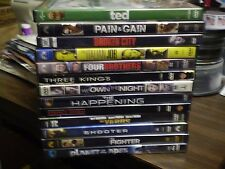 (13) Mark Wahlberg DVD Lot: Ted Pain & Gain Broken City Planet of the Apes  MORE