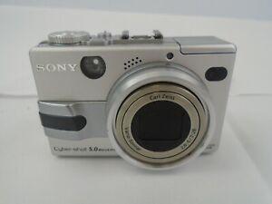 Sony Cybershot Digital Camera 5.0 MP *Untested*