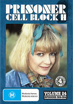 Prisoner Cell Block H Volume 24 Episodes 369 - 384 New DVD Region ALL Sealed