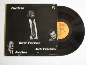 OSCAR PETERSON JOE PASS NIELS PEDERSEN The Trio LP PABLO USA PRESS