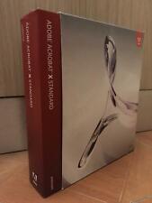 Adobe Acrobat X Standard ORIGINALE x Windows Completa Italiano DVD + Licenza